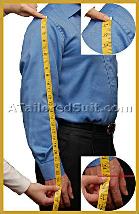 Male Sleeve Measurement