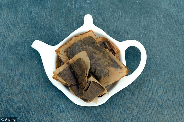 Think twice the next time you want to throw out your used teabag