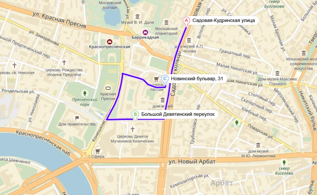 Яндекс.Карты — подробная карта Рос